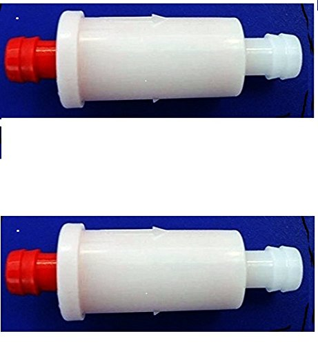 genuine oem small inline fuel filter twin pack 2530009, genuine oem part by polaris Polaris SLT 780 Fuel Filter
