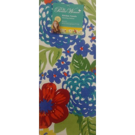 The Pioneer Woman Dazzling Dahlias 2-Piece Kitchen Towel Set