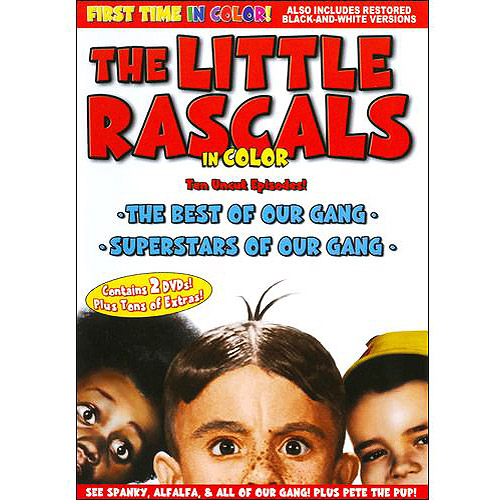 The Little Rascals: The Best Of Our Gang / Superstars Of Our Gang (In Color)