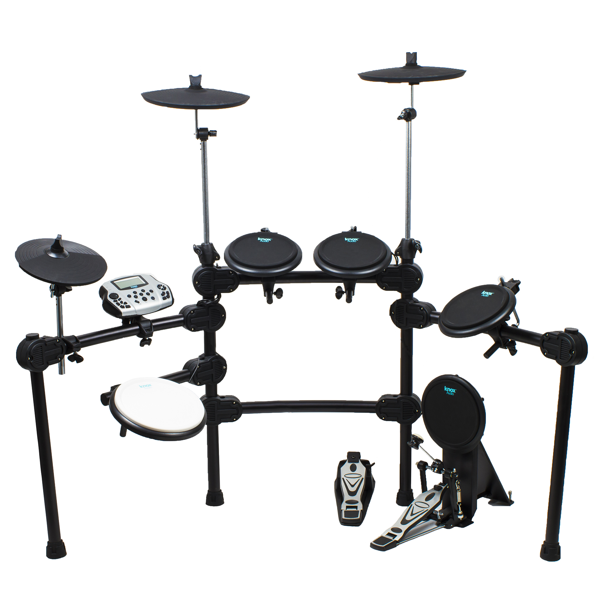 Click here to buy Knox Professional Electric Drum Set w  5 Drums & 3 Cymbals by Knox.
