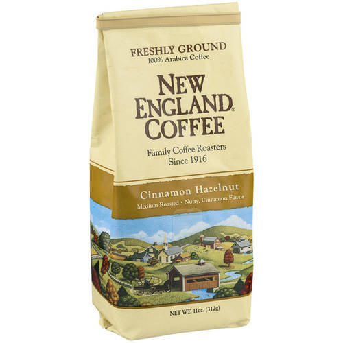 New England Coffee Cinnamon Hazelnut Coffee, 11 oz