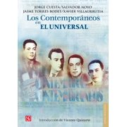 Los Contemporáneos en El Universal - eBook