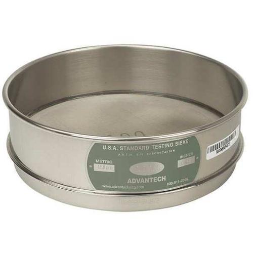 ADVANTECH 325SS8F Sieve, #325, S/S, 8 In, Full Ht