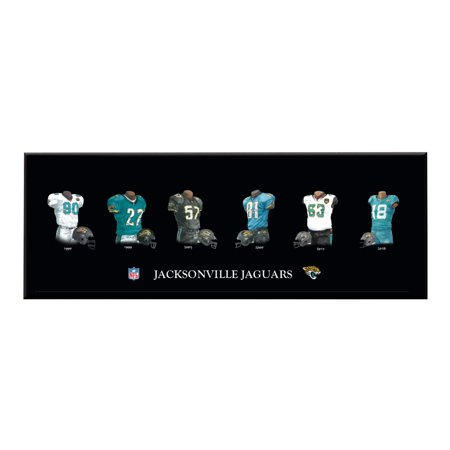Winning Streak - NFL Uniform Plaque, Jacksonville Jaguars ()