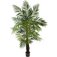 Nearly Natural 6' Areca Palm Tree