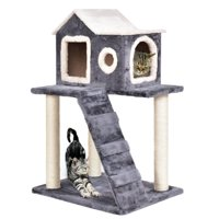 Gymax 36'' Cat Tree Kitten Activity Tower Furniture Room Condo Scratching Posts Ladder