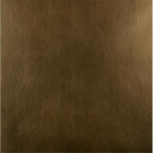 Designer Fabrics G536 54 in. Wide Shiny Copper Brown, Upholstery Grade Recycled Leather