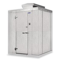 "Nor-Lake KODF8766-C Walk In Freezer 6'x 6'x 8'7"" Outdoor -10°F w/ Floor"