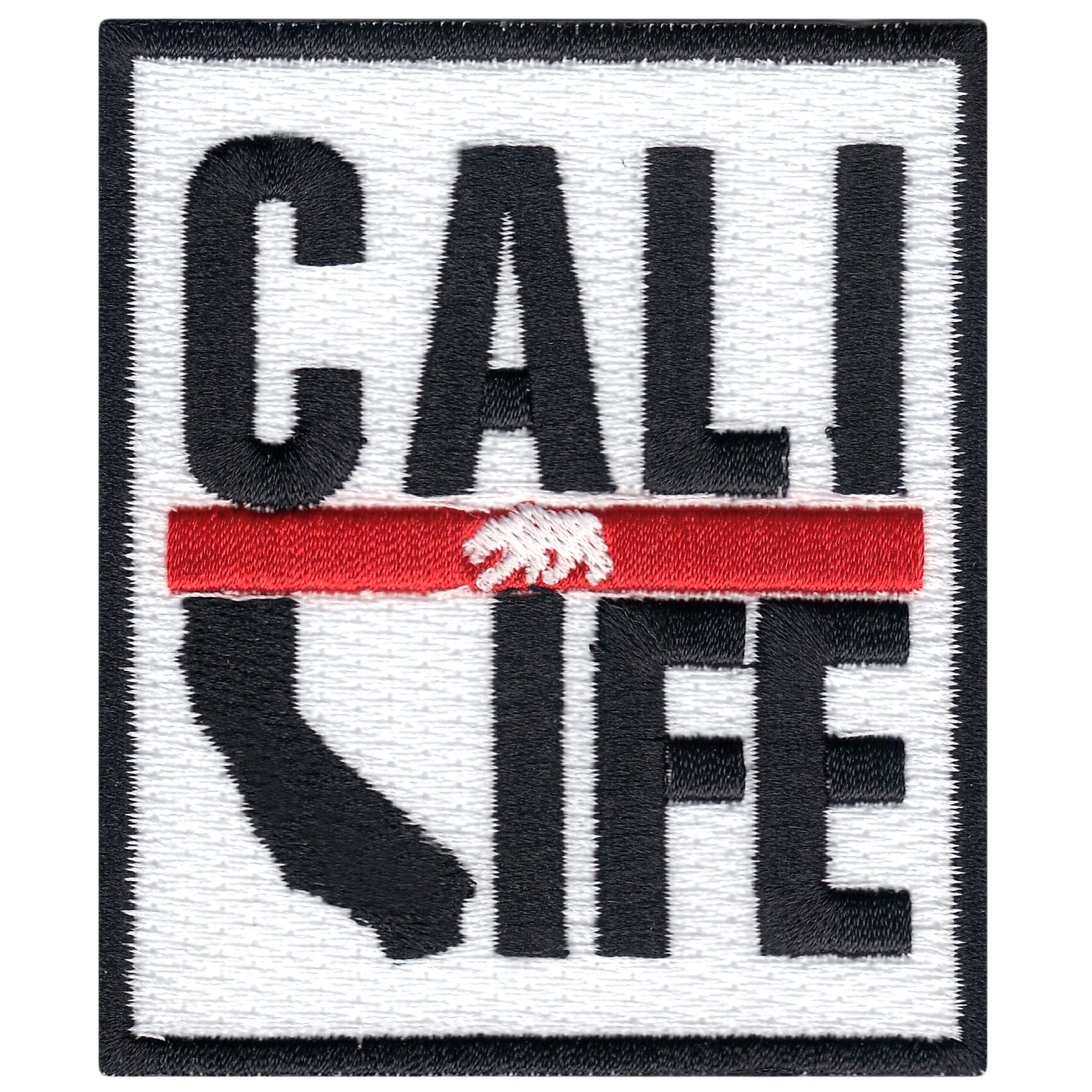 Cali Life State Iron On Applique Patch