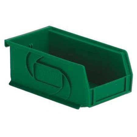 Lewisbins 25 lb Capacity, Hang and Stack Bin, Green PB74-3 Green ()