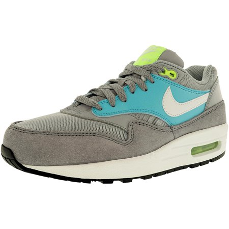 new style 937c5 07508 ... Sneakers   Running Shoes. Nike Women s Air Max 1 Essential White Black Metallic  Silver Ankle-High Leather ...