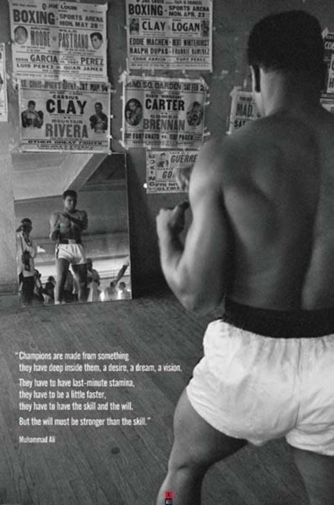 Bodybuilding Fitness Motivational Art Silk Poster 24x36 inch Gym Room Decor 008