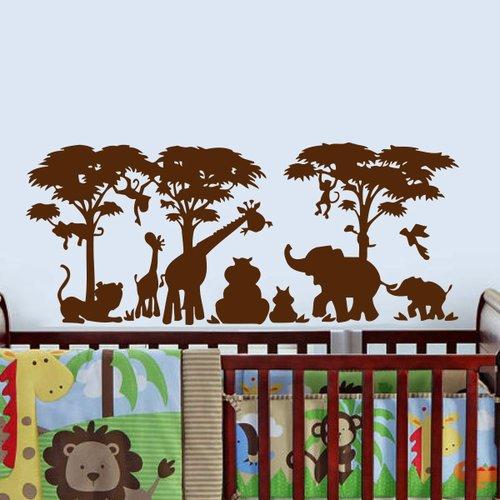 Zoomie Kids Arterberry African Safari Wall Decal