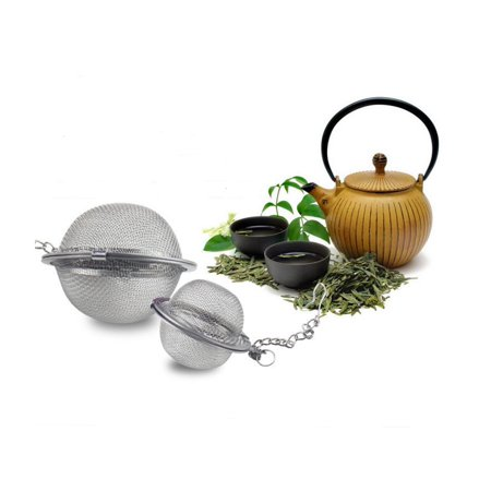 Mesh Tea Ball Strainers Stainless Steel Tea Filters Loose Leaf Tea Infuser Strainers Interval Diffuser for