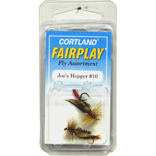 Cortland Joe's Hopper Dry Flies, Size 10, 2pk