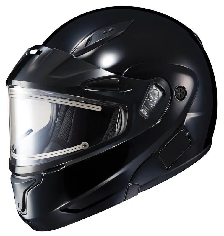 HJC CL-MAX 2 Modular Snow Helmet w/Electric Shield Gloss Black