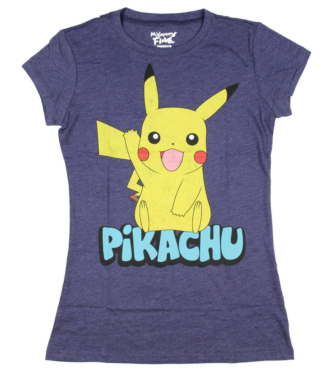 ;Pokemon-; Character Pyjama Top Tee T-Shirt for Ladies Gift New