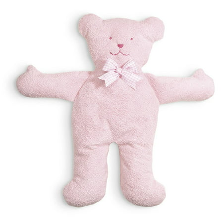 Pastel Pancake Bear Plush Toy, Pink, Made of silky soft ultra sueded valboa By North American Bear
