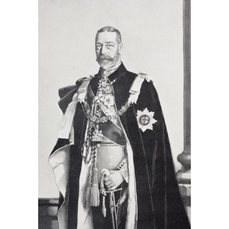 George V 1865 To 1936 Full Name George Frederick Ernest Albert King Of The United Kingdom And The British Dominions And Emperor Of India From The Book Buckingham Palace Its Furniture Decoration And (George V King Coin Price In India)