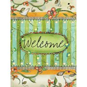 """Well Street by Lang """"Welcome"""" Large Flag, 28"""" x 40"""""""