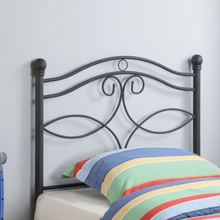 Coaster Furniture Youth Headboards Transitional Twin Metal Headboard - Matte Black