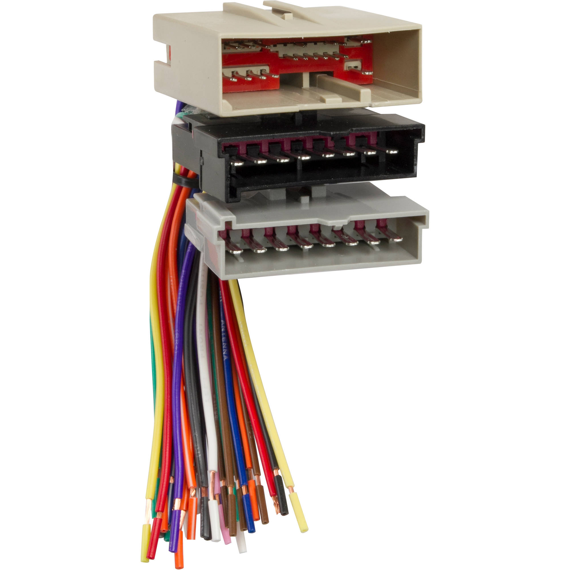 scosche radio wiring harness for 1986 1997 ford   47