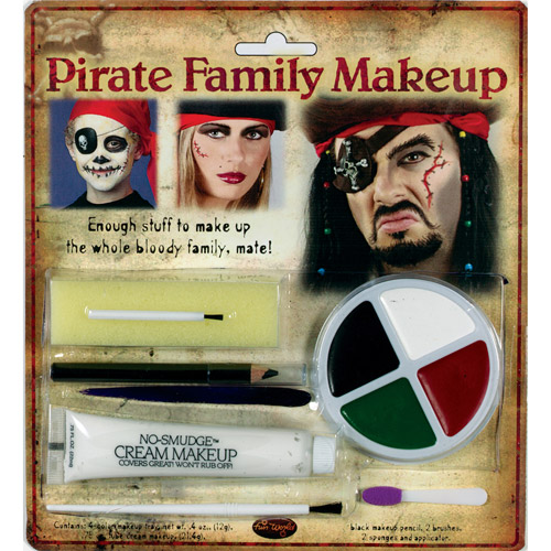 Pirate Family Makeup Kit Halloween Accessory