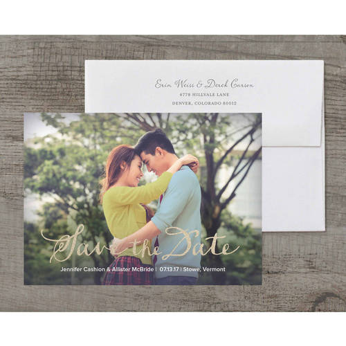 Handwritten Note Deluxe Save The Date