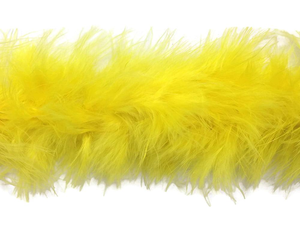 "TURKEY BOA ORANGE 2 Yards 8-10/"" Feathers 150 Grams; Halloween//Costume//Bridal"