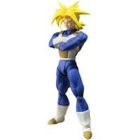 TAMASHII NATIONS Bandai Super Saiyan Trunks (Cell Saga Version) Dragon Ball Z Action Figure, 100% Toy By Visit the TAMASHII NATIONS Store