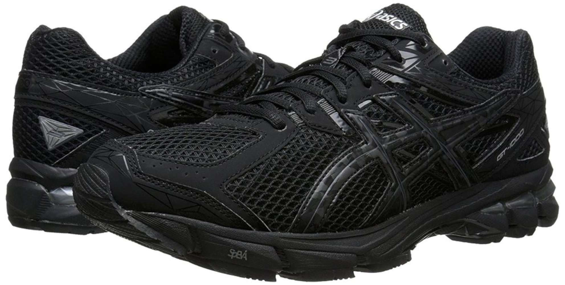Asics Men's Gt-1000 3 M Black/Onyx/Lightning Ankle-High Tennis Shoe - 7.5M