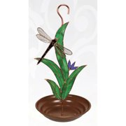 Gift Essentials Dragonfly with Leaves Bird Feeder