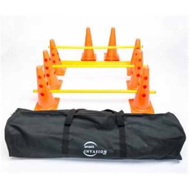 Sports Invasion TCH15 Agility Cone Hurdle