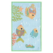 The Rug Market Fish Party Size 2.8' x 4.8' Area Rug