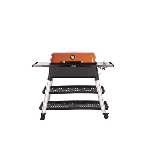Everdure by Heston Blumenthal Furnace 3-Burner Convertible Gas Grill with Side Shelves by