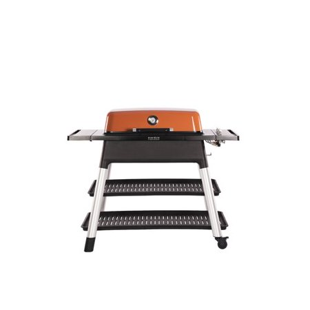 Everdure By Heston Blumenthal Furnace 3 Burner Convertible Gas Grill With Side Shelves