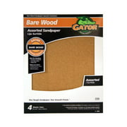 ALI INDUSTRIES 4461 4PK Garet Assorted Sandpaper