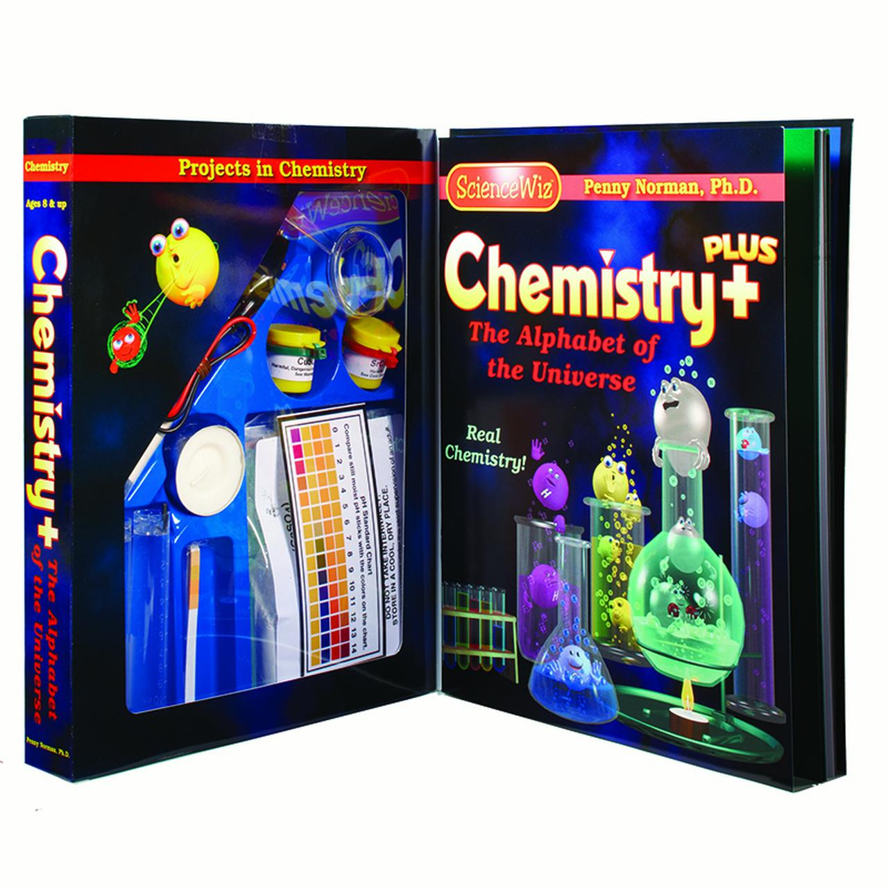 ScienceWiz Chemistry Plus Kit