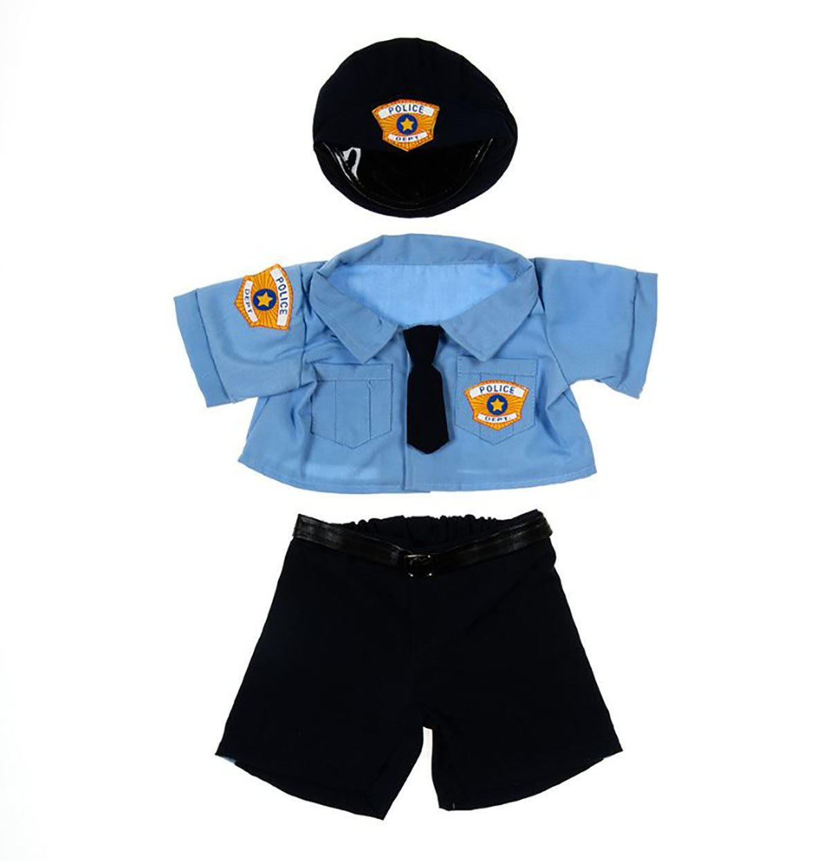 "Police Uniform Outfit Teddy Bear Clothes Fits Most 14"" 18"" Build-a-bear, Vermont... by Bear Factory"