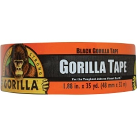 Gorilla Tape  Extra-Thick  All-Weather Duct Tape  1.88 in  x 12 yds  3 in  Core  Black