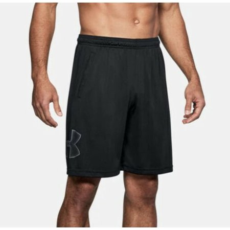 Under Armour Men's UA Tech Graphic Pocketed Shorts 1306443-001 Black