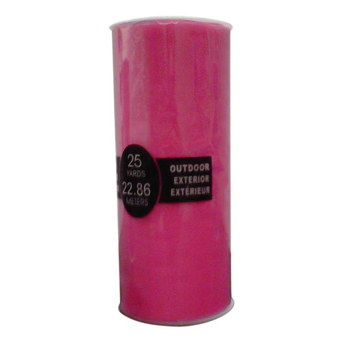 """Berwick Offray Tulle Hot Pink 6"""" Ribbon"""