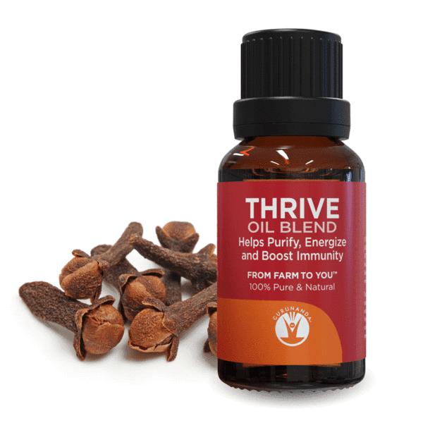 GuruNanda Aromatherapy 100% Pure & Natural , Thrive, .5 fl oz