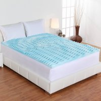 Authentic Comfort Orthopedic, Pressure Relieving 5-Zone Foam Mattress Topper in 2, 3, 4 inches