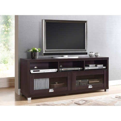 "Techni Mobili Durbin TV Cabinet for TVs up to 65"", Espresso"