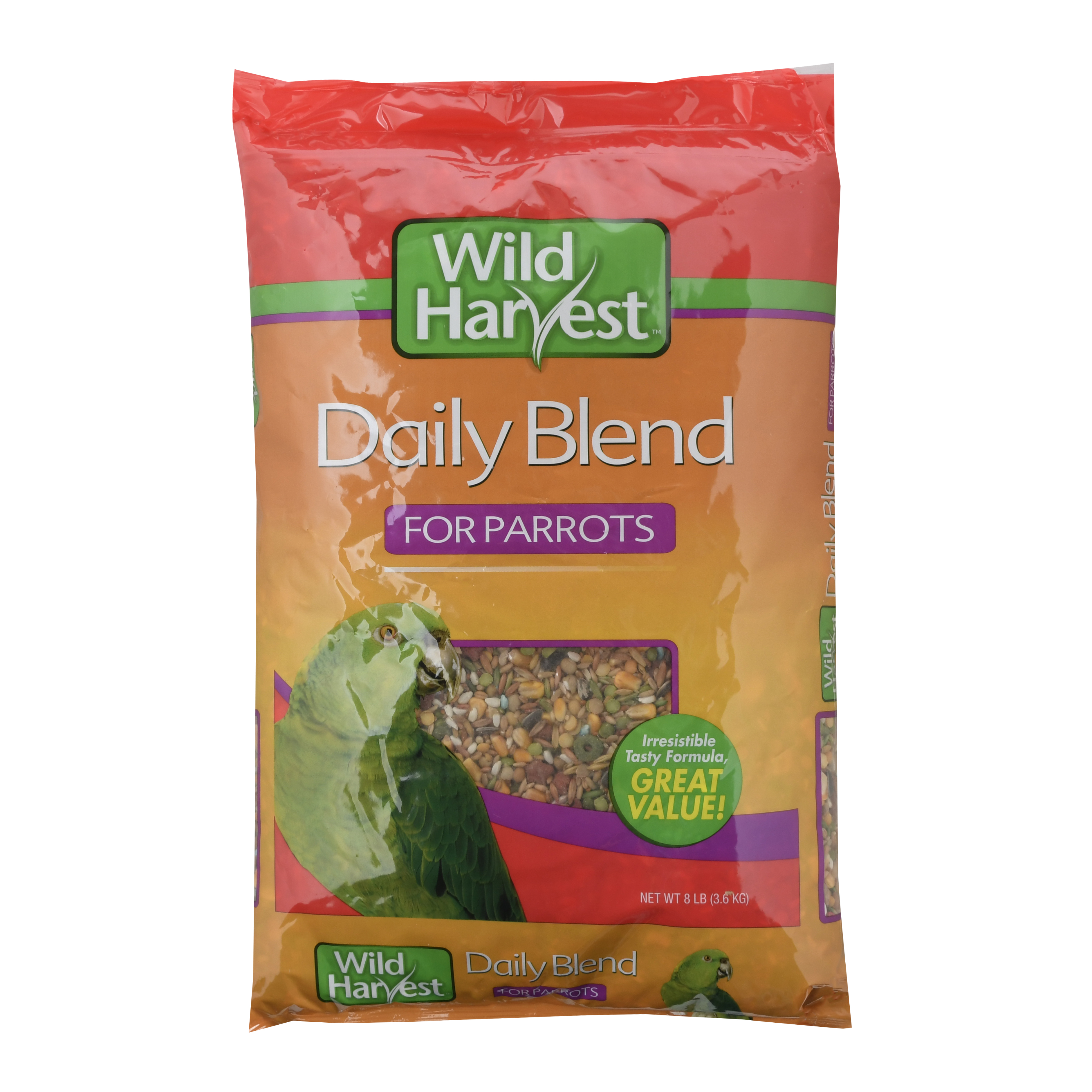 Wild Harvest Daily Blend Parrot 8lbs