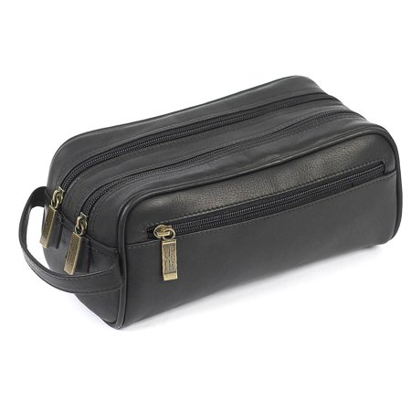 Claire Chase Leather Travel Kit (Leather Toilet Bag)