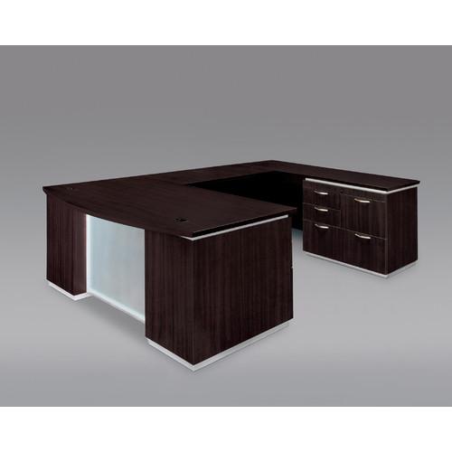 Dmi Furniture Flexsteel Contract Pimlico Right Personal File U-Shape Executive Desk