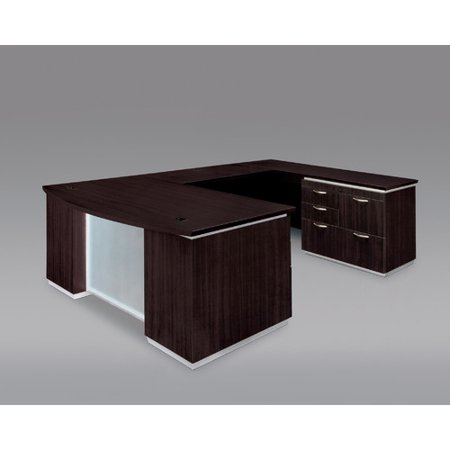 Flexsteel Contract Right Personal File Shape Executive Desk