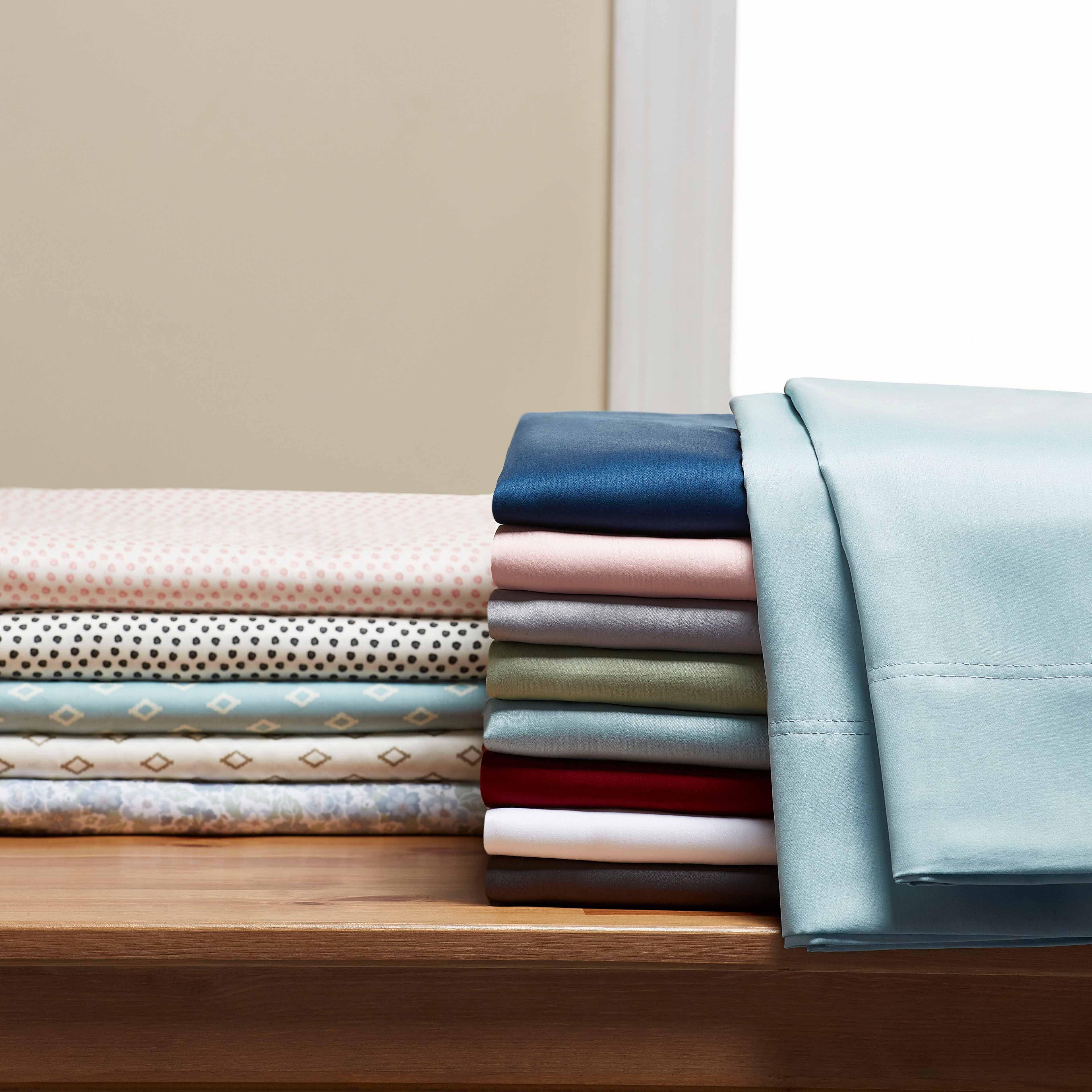 Better Homes /& Gardens 300 Thread ct Wrinkle Resistant King-Sheet-Set Brand New
